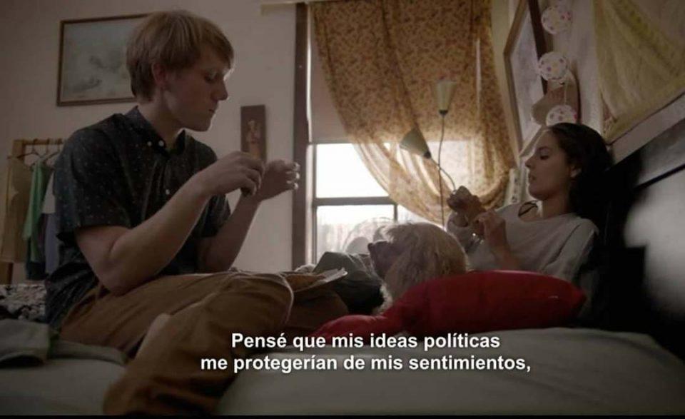 mis ideales políticos no me protegen de lo que siento -